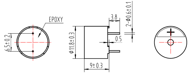 hn-1290-电磁无源蜂鸣器-江苏华能电子有限公司